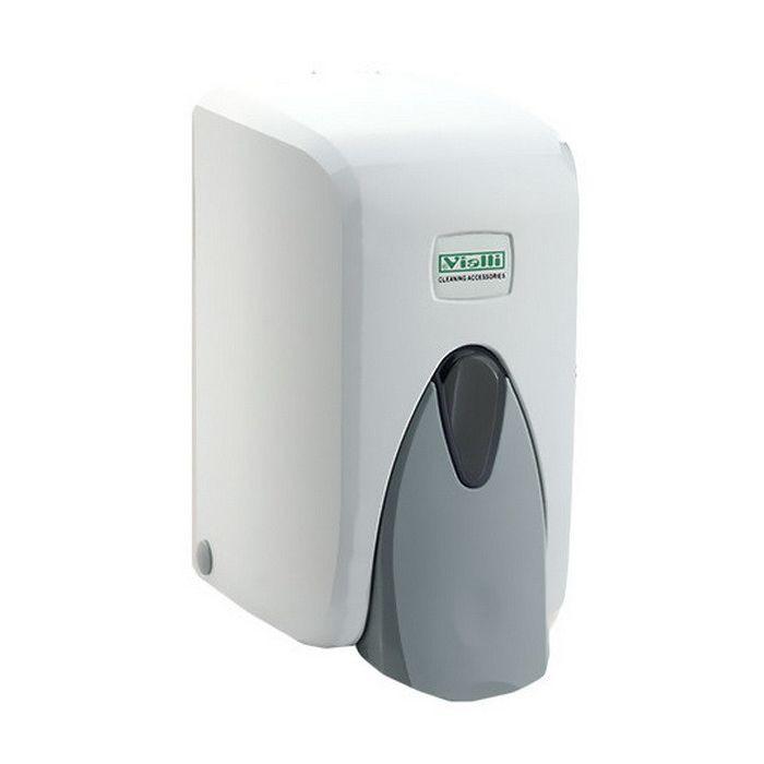 Vialli Folyékony szappan adagoló, zárható, ABS műanyag 500 ml, 24db/karton