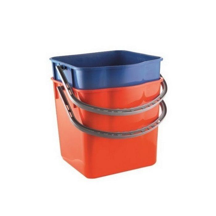 Műanyag piros 18 L-es vödör
