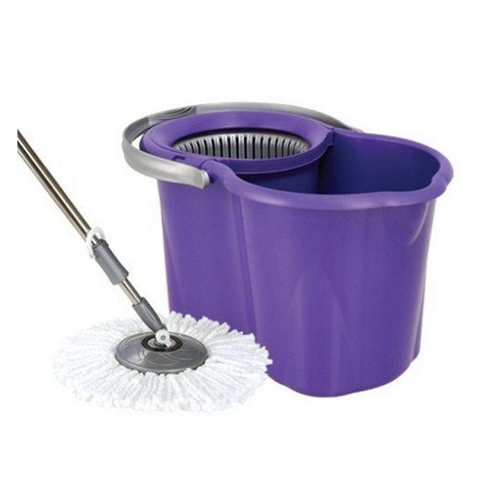 SPIN MOP forgófejes felmosó szett 19 liter (vödör nyél mop)