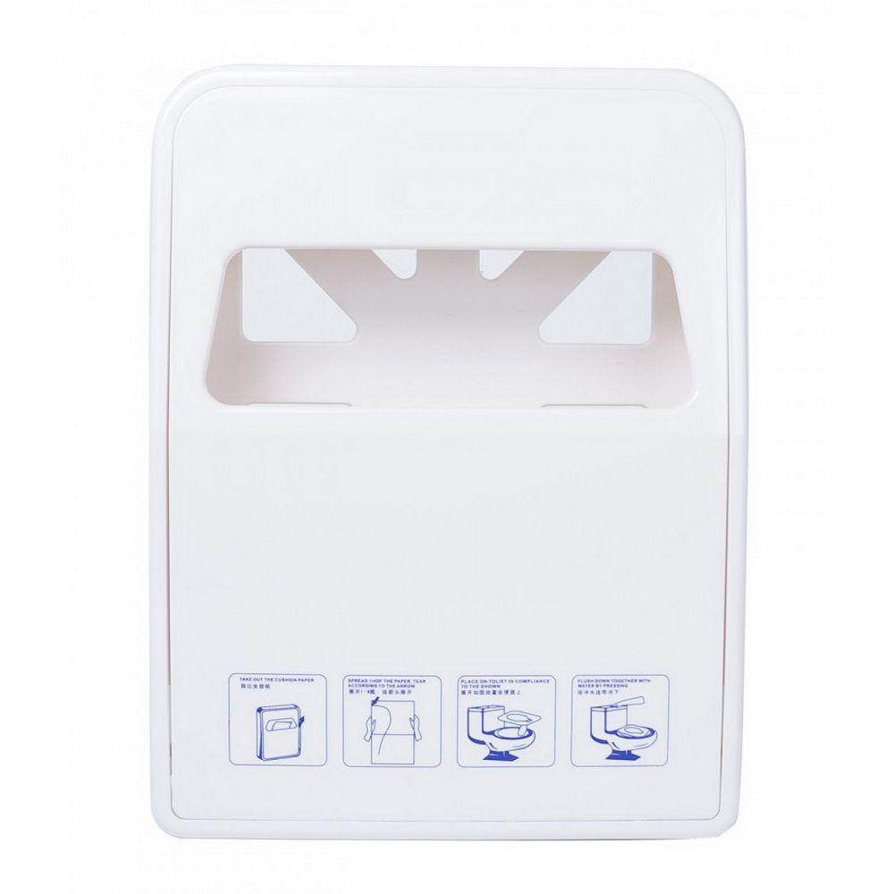 WC ülőke papír adagoló fehér 232x56x302mm 24db/karton