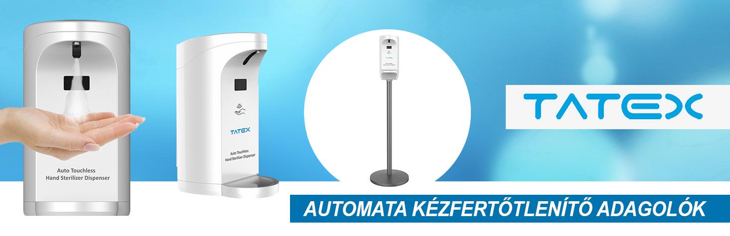 TATEX automata kézfertőtlenítő adagolók